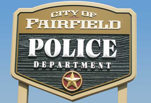 Fairfield TX Police Jail