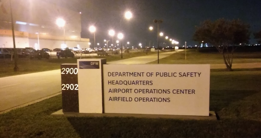 DFW International Airport TX Police Jail
